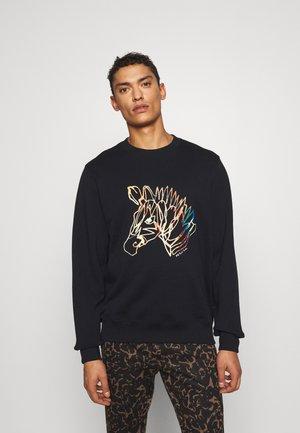 ZEBRA HEAD UNISEX - Sweater - black