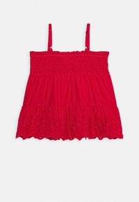 GAP - GIRL EYELET - Top - pure red - 1