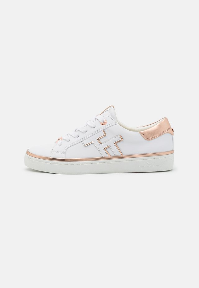 Sneakers laag - white/rose