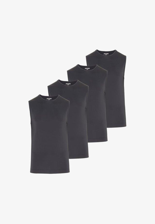 4 PACK  - Hemd - schwarz