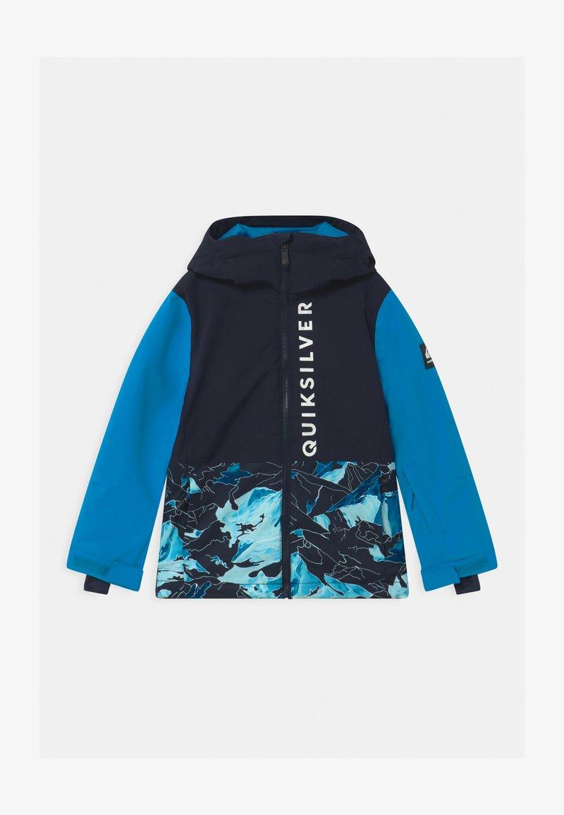 Quiksilver - SIDE HIT UNISEX - Snowboardová bunda - brilliant blue