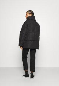 Monki - BEA - Zimní bunda - black dark - 2