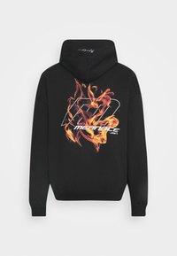 Mennace - FIRE HOODIE - Sweatshirt - black - 7