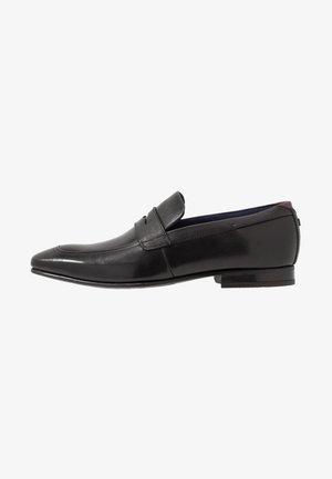 GALLE - Elegantní nazouvací boty - black