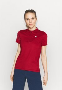 Ziener - NAMINTA LADY TRICOT - Cycling Jersey - red pepper - 0
