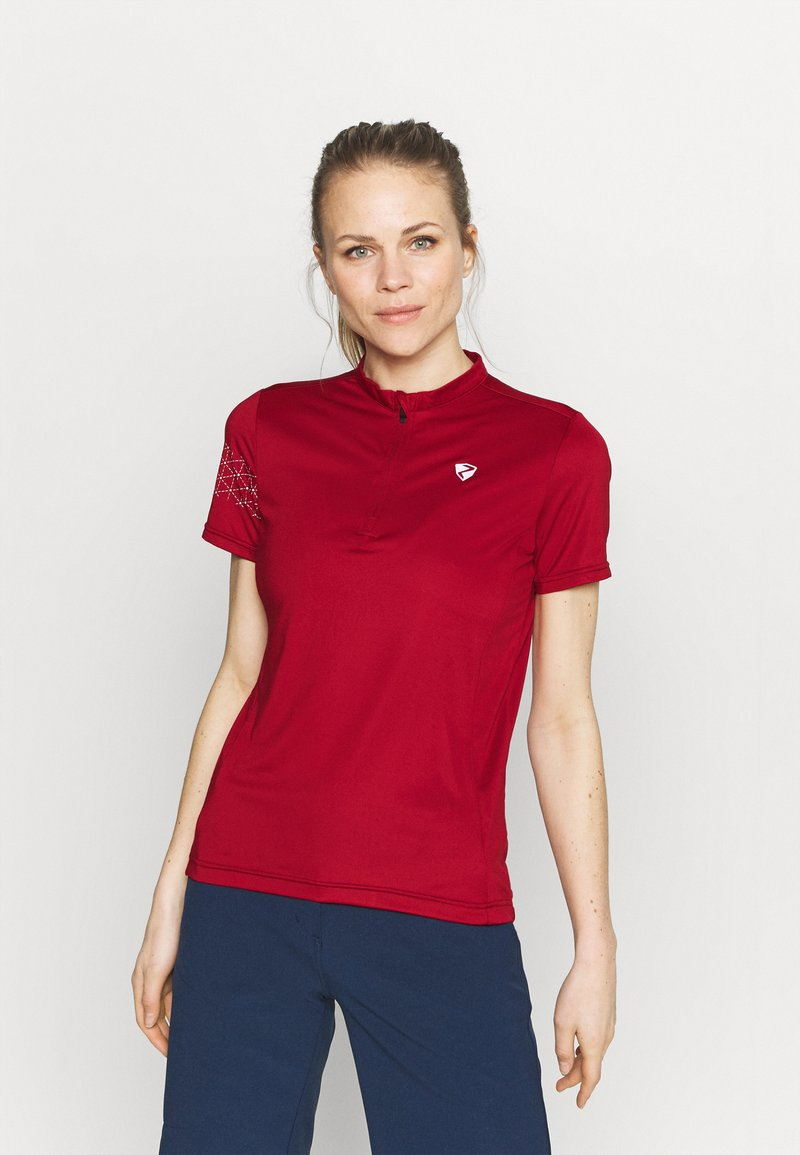 Ziener - NAMINTA LADY TRICOT - Cycling Jersey - red pepper