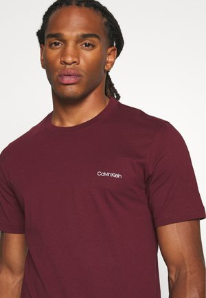 CHEST LOGO - T-shirts basic - red