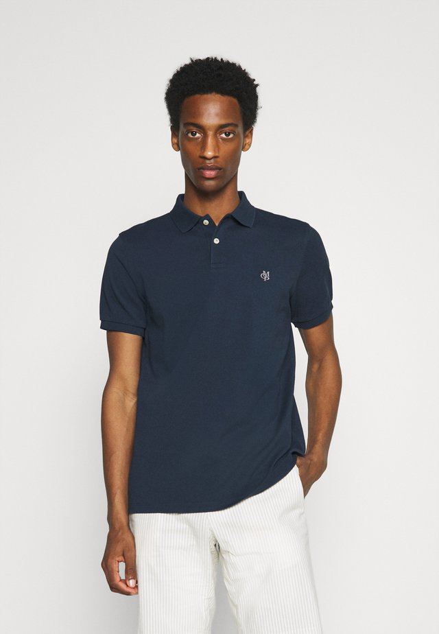 SHORT SLEEVE BUTTON - Polo - total eclipse