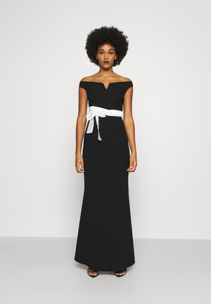 BARDOT BAND DRESS - Suknia balowa - black