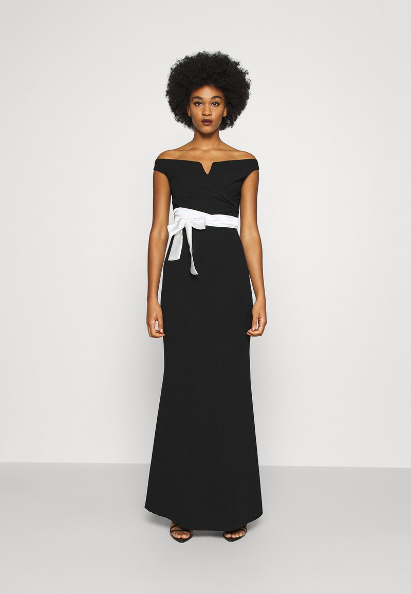 WAL G. - BARDOT BAND DRESS - Suknia balowa - black