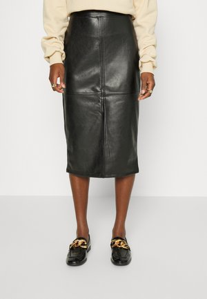 LEIDER SKIRT - Spódnica ołówkowa  - black