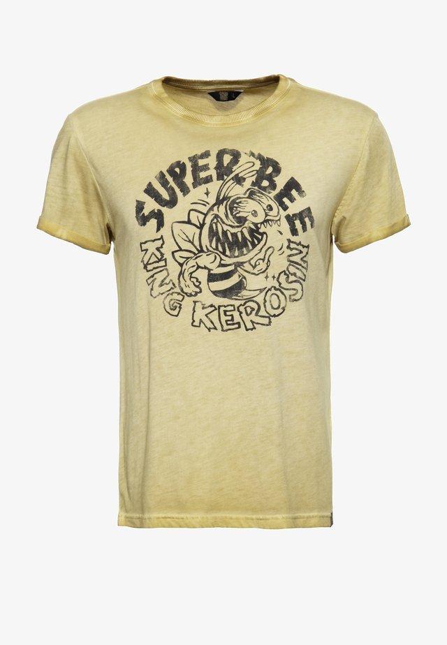 T-shirt imprimé - curry