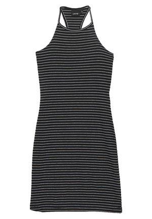 NLFJILY DRESS - Vestito di maglina - black