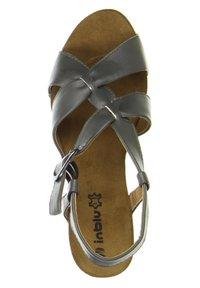 Inblu - Wedge sandals - anthrazit - 1