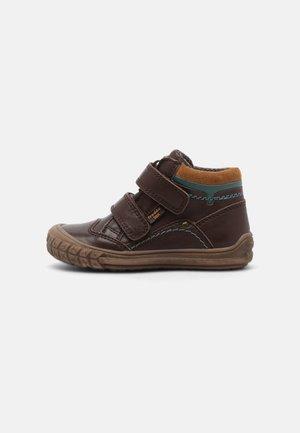 NAIK TEX - Klittenbandschoenen - dark brown