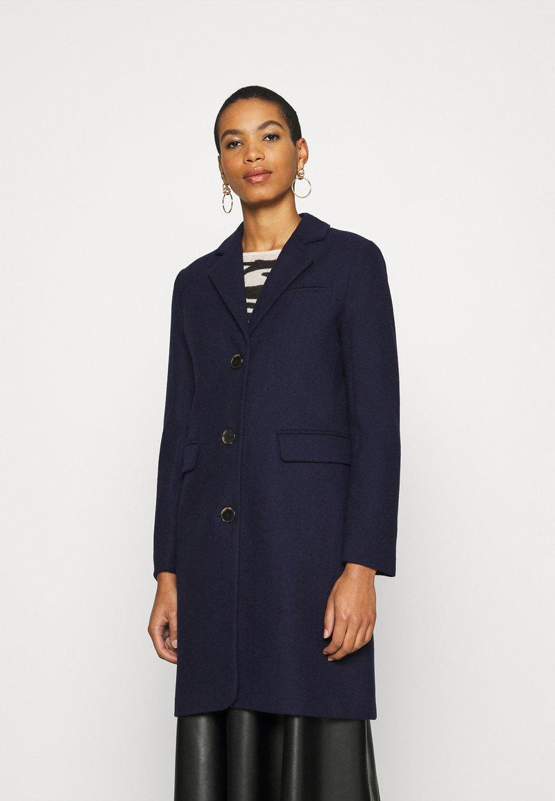 Selected Femme - SLFELINA - Short coat - maritime blue