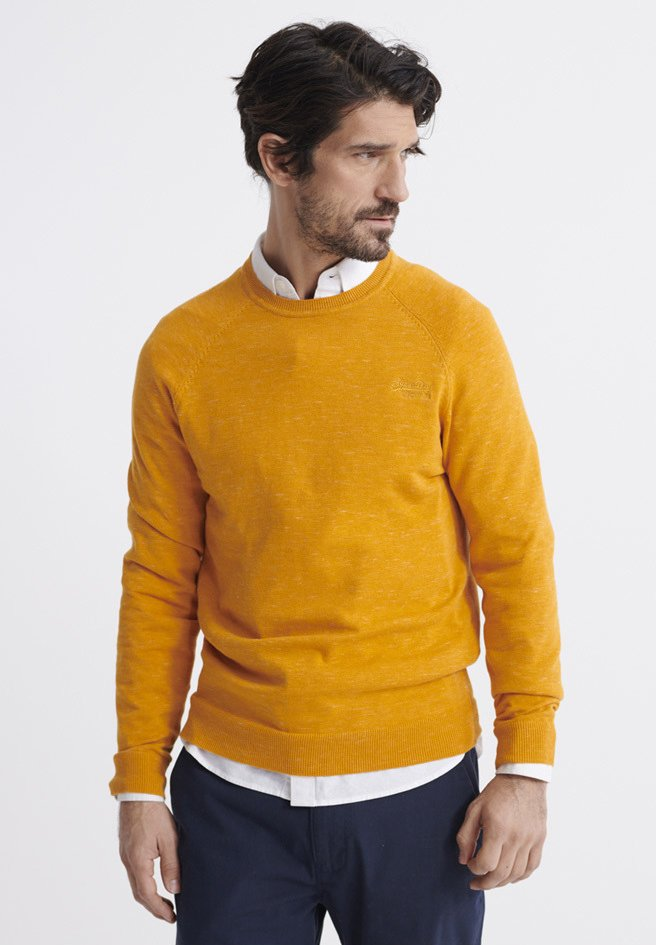 Superdry - ORANGE LABEL - Pullover - sienna gold grindle