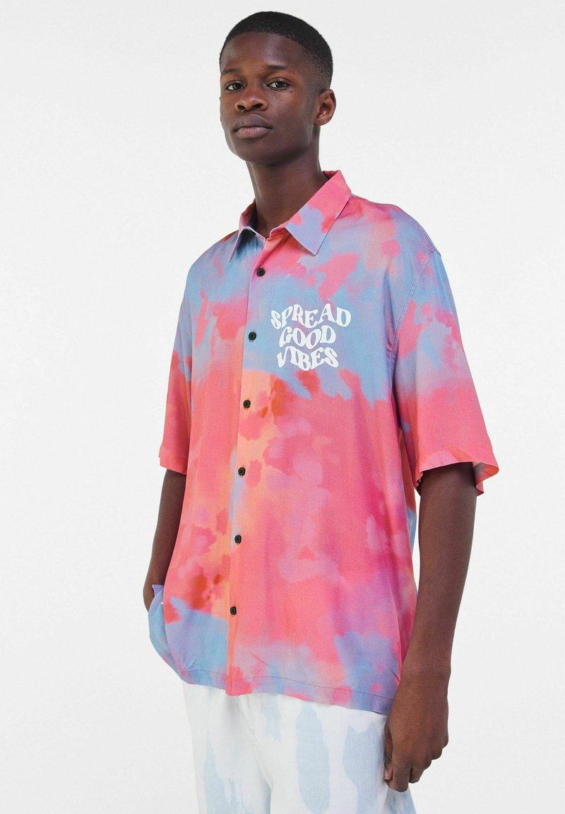Bershka - Shirt - pink