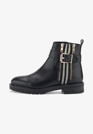 ZIPPER - Classic ankle boots - schwarz