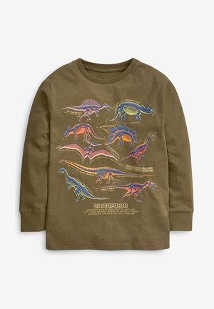 GRAPHIC - Long sleeved top - khaki