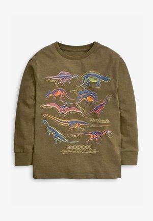 GRAPHIC - Bluzka z długim rękawem - khaki