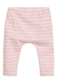 Next - WHITE/PINK BUNNY T-SHIRT, LEGGINGS AND HEADBAND SET (0MTHS-3YRS) - Leggings - Trousers - pink - 4