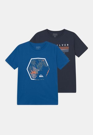 FADING FORTUNE TEE 2 PACK - Print T-shirt - classic blue/navy blazer