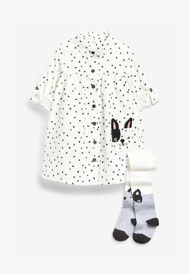 Sukienka koszulowa - off-white