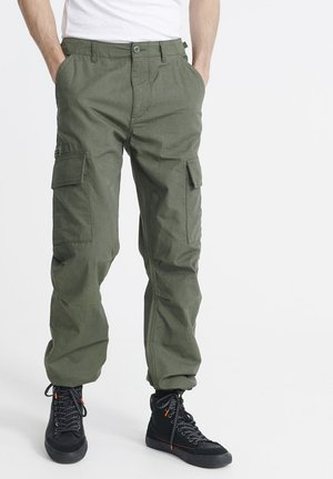 FIELD - Cargo trousers - utility drab