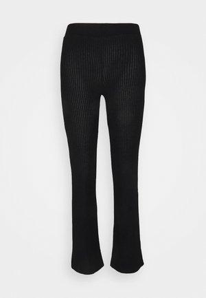 STINA TROUSERS - Pyjama bottoms - black