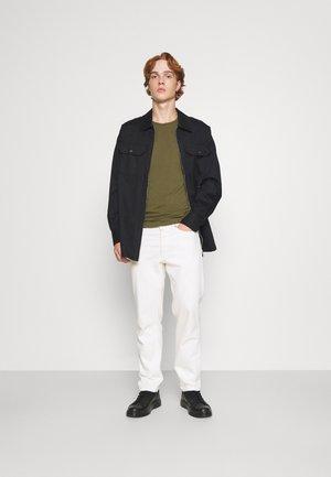 UMTEE RANDAL 3 PACK - T-shirt basique - burgundy/ dark grey/ olive