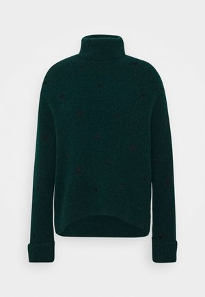 OLIVIA - Pullover - bottle green