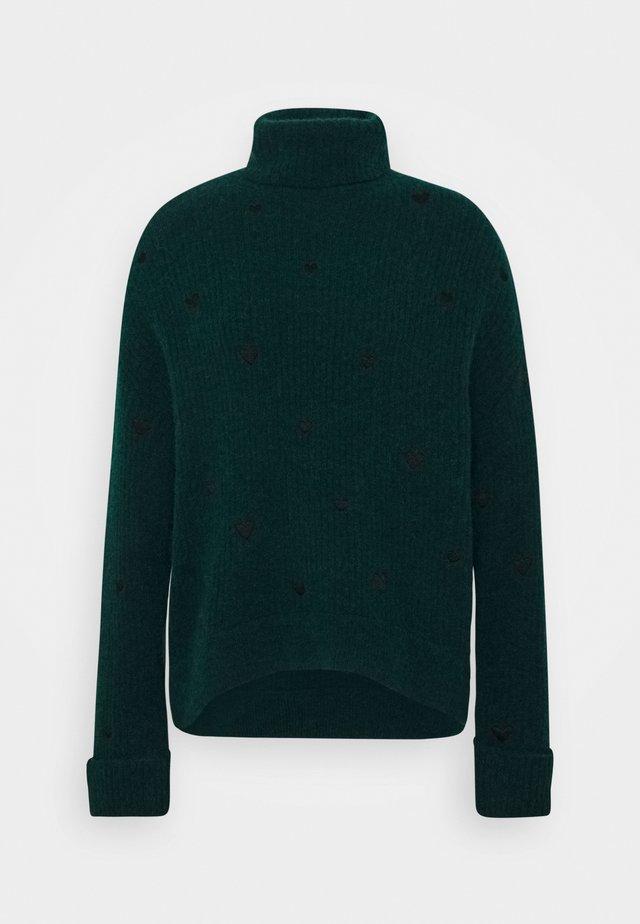 OLIVIA - Pullover - bottle green