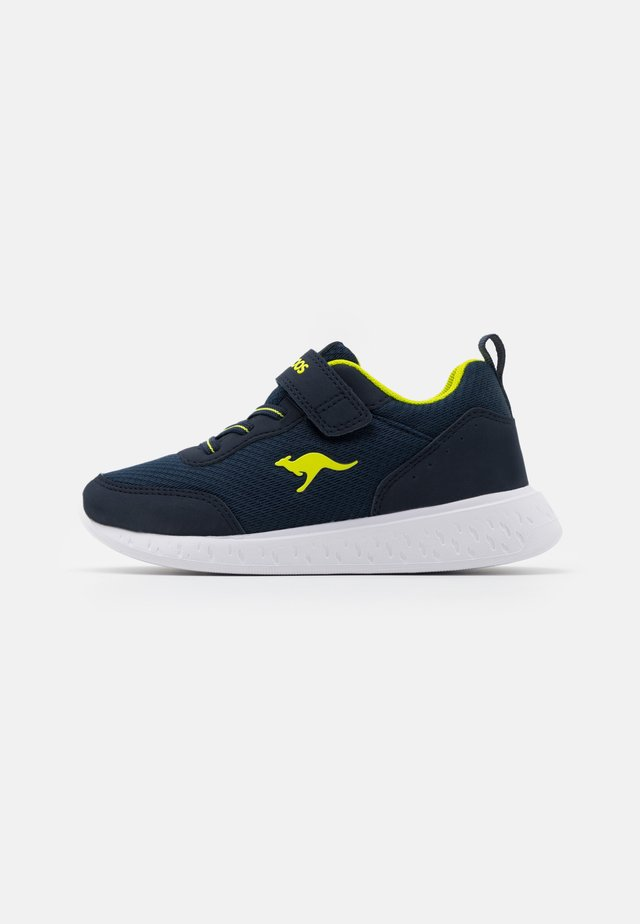 K-ACT RIK  - Sneakers laag - dark navy/lime