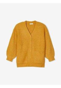 Name it - Cardigan - spruce yellow - 2