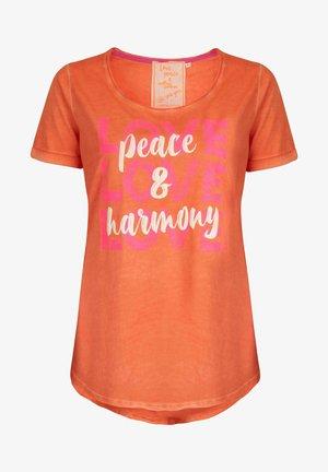 CARISSIMAL - Print T-shirt - orange