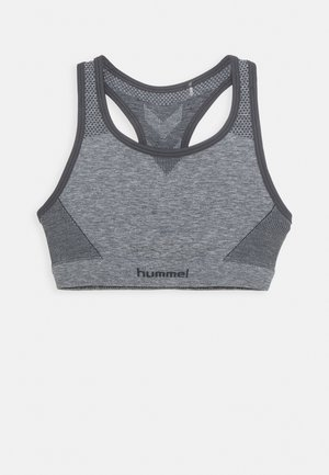 HMLAVA SEAMLESS SPORTS - Sport BH - medium melange