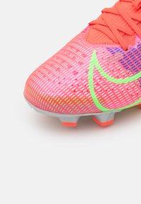 Nike Performance - MERCURIAL VAPOR 14 PRO FG - Moulded stud football boots - bright crimson/metallic silver - 5