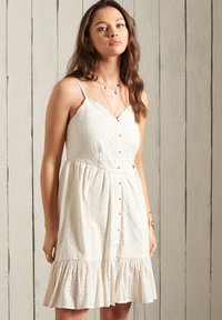 Superdry - Cocktail dress / Party dress - cream - 1