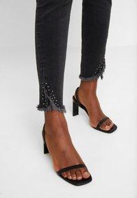 Mos Mosh - SUMNER FRAY TROK - Jeans Skinny Fit - black - 6