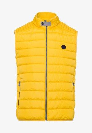 STYLE WILLIS - Waistcoat - yellow