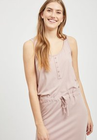 Object - OBJSTEPHANIE MAXI DRESS  - Maxi dress - rose - 3