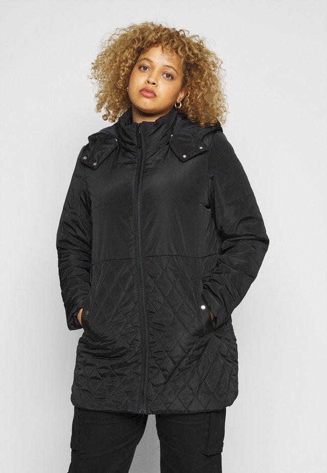 JRSARA QUILTED JACKET - Zimní kabát - black