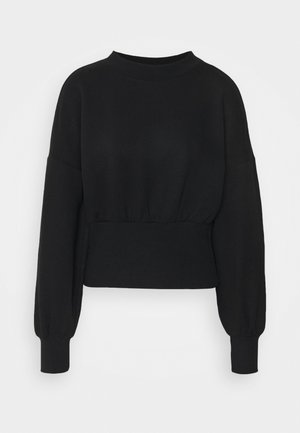ONLLINA HIGHNECK - Sweatshirt - black