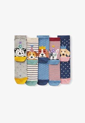 5PACK - Socks - blue