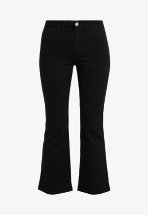 HALLY  - Jeans bootcut - black