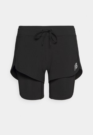 IMPACT RUN - Sports shorts - black