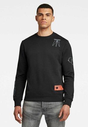 OBJECT GRAPHIC - Sweatshirt - dk black