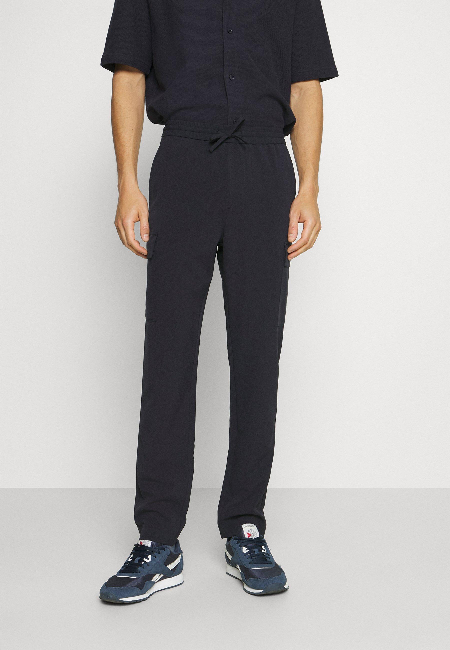 Homme PANTS PATCH THIGH POCKET - Pantalon classique