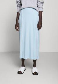 Filippa K - VIOLA SKIRT - Maxi sukně - pale blue - 0